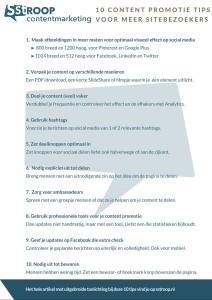 10 content promotie tips