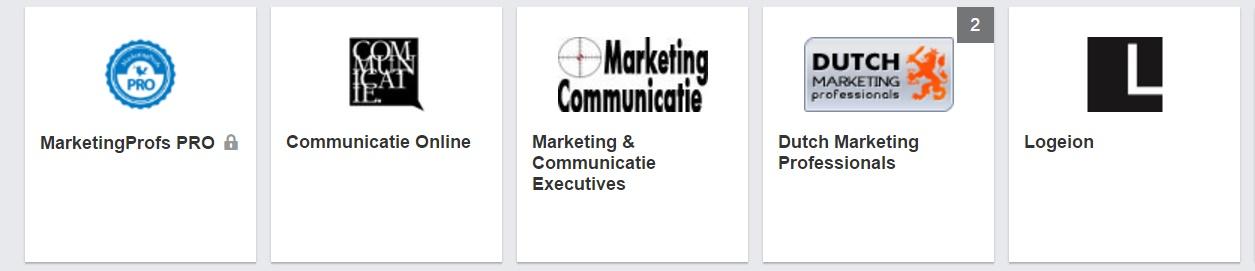 LinkedIn groepen over communicatie