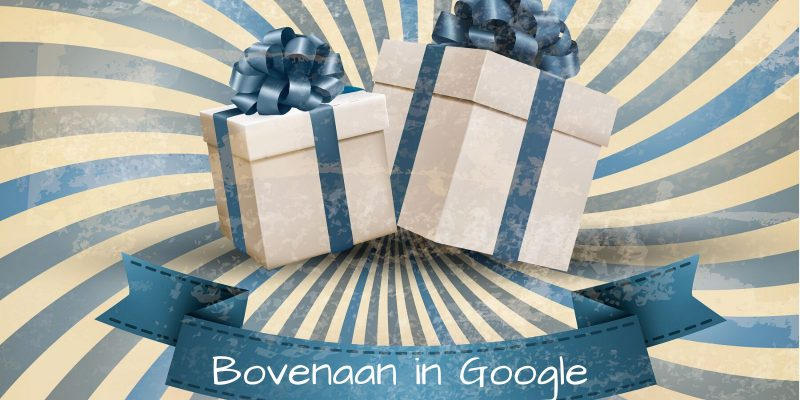 bovenaan in Google. En dan?