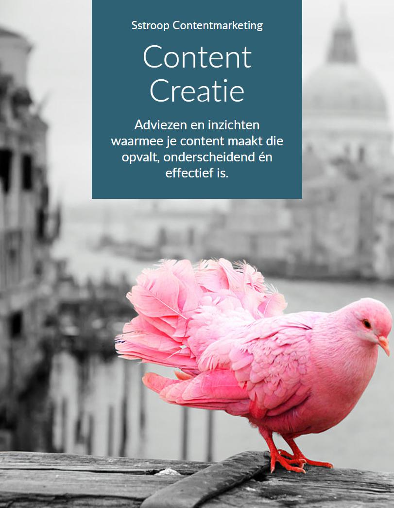 Handleiding Content Creatie met tips voor het maken van online en offline content die opvalt, aanspreekt en effectief is