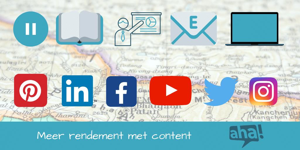 content mapping tips en voorbeelden