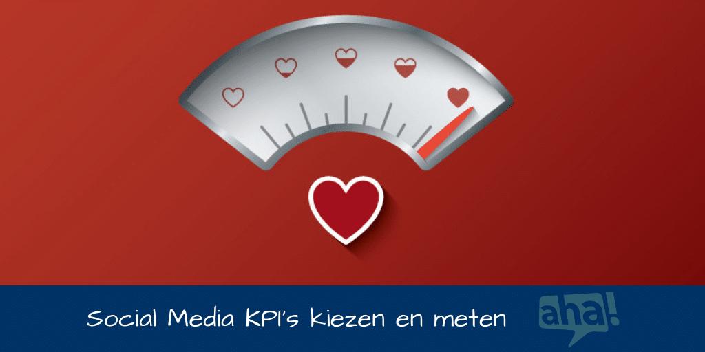 social media doelstellingen vaststellen en meten