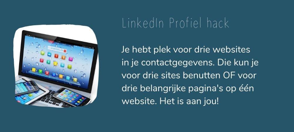 Tip LinkedIn profiel ondernemer