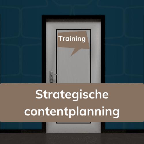 Training strategische contentplanning