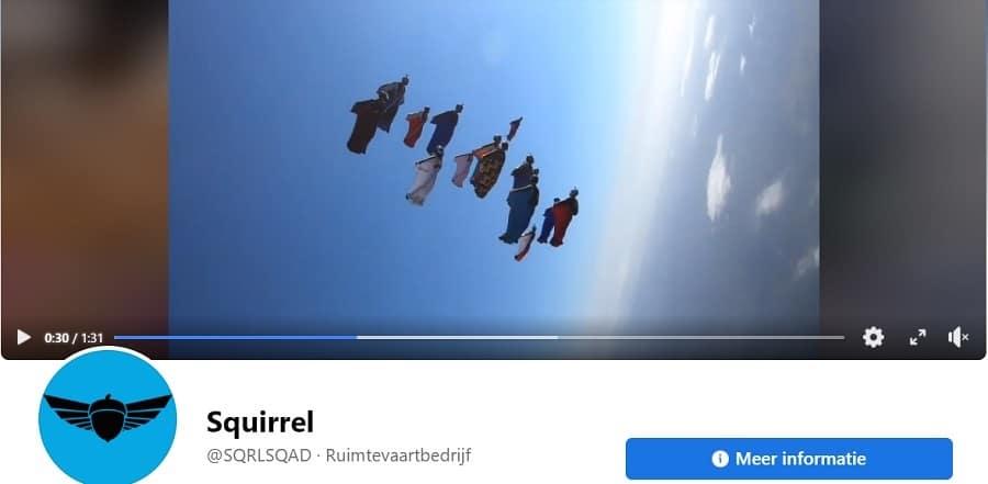 Facebook omslagvideo voorbeeld