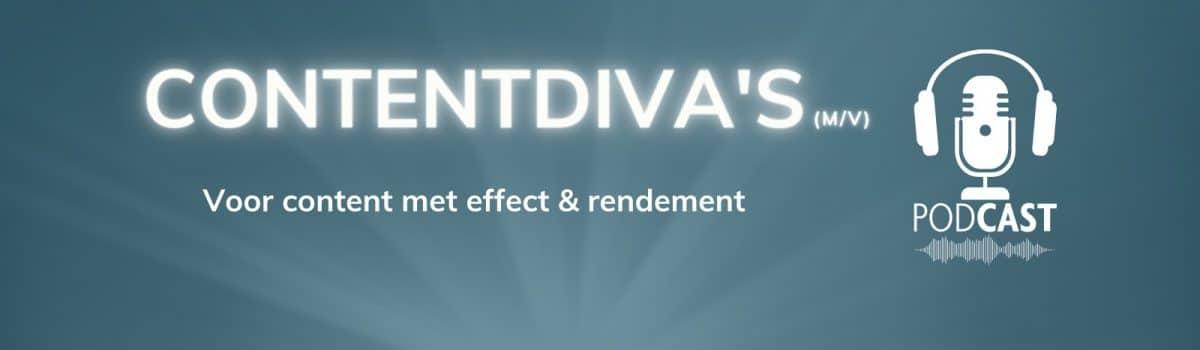 contentmarketing podcast contentdiva's